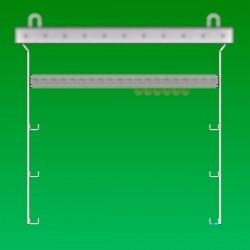 Potence hauteur 1.25 M, 5 points de fixation directs