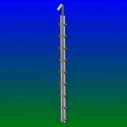 Balancelles titane grande pince Y - L800 - Esp 50 - 4 par étage