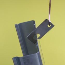 Crochet à tôle inférieur à 3mm