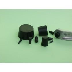 BLACK EPDM PLUGS 180°C