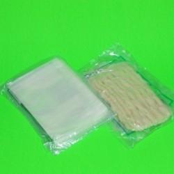 Chiffon adhésif uni, 4 paquets de 5 soit 20 pièces
